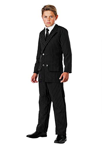 Big Boys' Deluxe Gangster Costume Suit X-Small ()