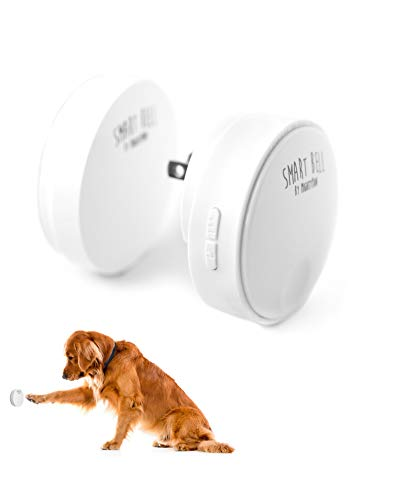 Mighty Paw Smart Bell 2.0, Dog Potty Communication Doorbell, Super-light Press Button Doorbell (1 Activator, ()