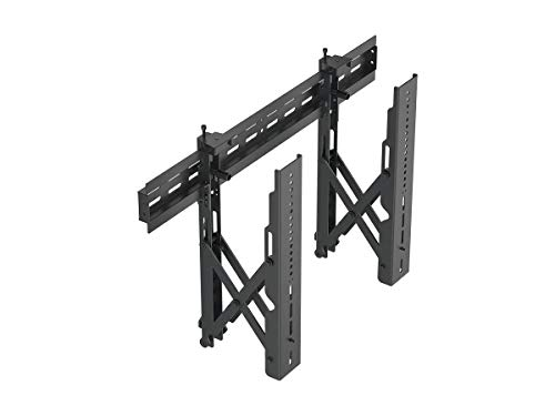 Monoprice TV Wall Mount Bracket | Specialty Menu Board, with Push-to-Pop-Out, Max Weight 99lbs, Extension Range of 2.4in to 8in,VESA Patterns Up to 600x400 Security Brackets - Entegrade Series ()