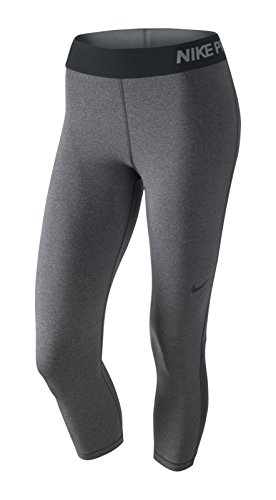 Nike Pro Cool Women's Training Capris (X-Large, DARK GREY/HTR/BLACK)