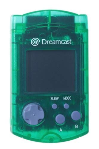 SEGA Dreamcast Green Visual Memo...
