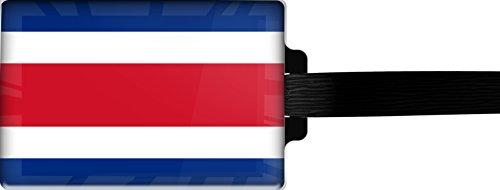 metALUm Luggage tag / Model Marco Polo / Flag Costa Rica / 3001017