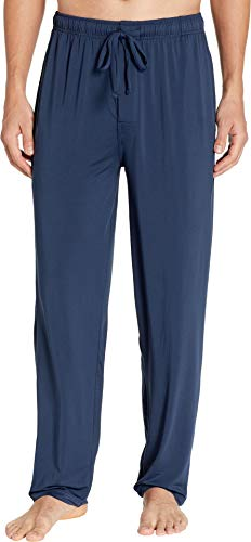 Jockey Men's Cool-Sleep Sueded Jersey Pants Navy X-Large ()