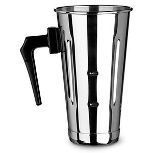 (30oz Stainless Steel Malt Cup with Black Plastic Handle)