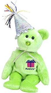 c6480039cfa Ty Beanie Babies Happy Birthday Bear November Retired No Hat  Toy ...