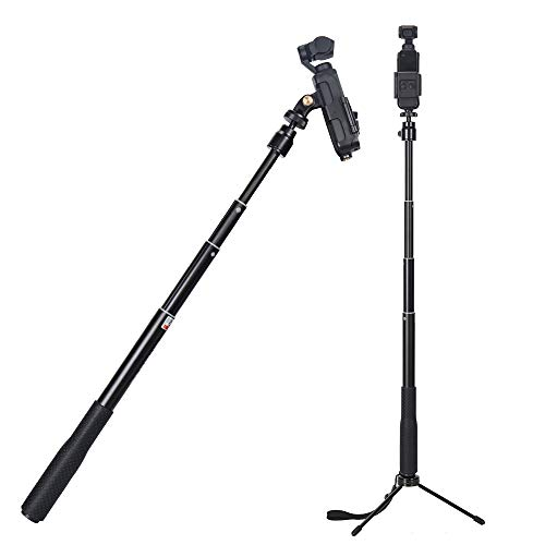 2018 //DJI OSMO Action Camera and cellphones Smatree Y1 Telescoping Pole Compatible for GoPro Hero Fusion//7//6//5//4//3+//3//2//Session//GOPRO Hero