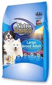Dog Food: NutriSource Adult Large Breed
