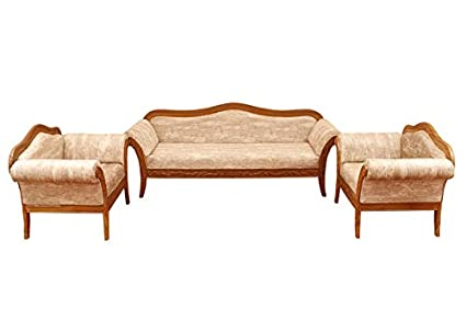 Amazing Woodsala Teak Wood Royal Wooden Furniture 5 Seater Sofa Set Customarchery Wood Chair Design Ideas Customarcherynet