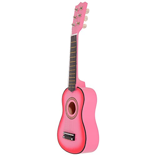 21″ Acoustic Guitar Toy with Pick String (Pink)