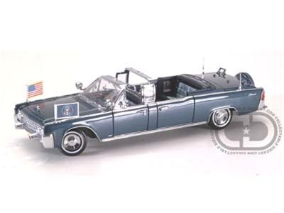 Amazon Com 1961 Lincoln X 100 Presidential Parade Car Limo 1 24