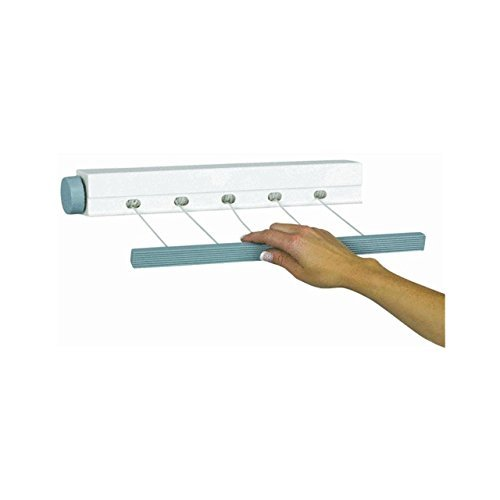 New! Outdoor - Indoor Retractable 5-Line Clothesline Laundry (Retractable Dryer)