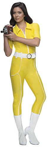April Oneil Ninja Turtle Costume (Rubie's Costume Teenage Mutant Ninja Turtles Deluxe April O'neil Jumpsuit, Yellow, Medium Costume)