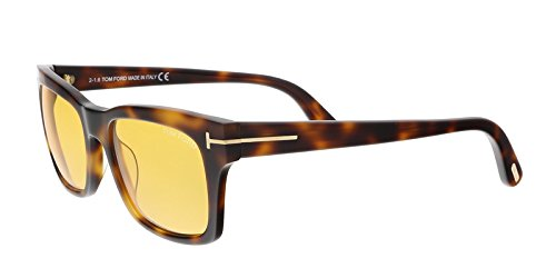 Tom Ford - FREDERIK FT 0494, Geometric, acetate, men, BLONDE HAVANA/BROWN (52E), - Ford Sunglasses Celebrity Tom