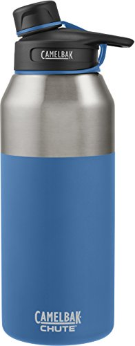 CamelBak Chute Vacuum Insulated Stainless Water Bottle, 40 oz, Pacific