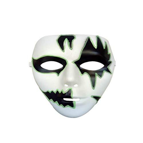 Luminous Skull Mask Horror Skeleton Skull Full Face