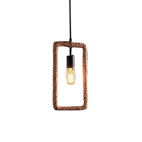 Lustre Vintage Loft Moderne Suspendu Plafond Suspendu Eclairage Abat Jour Cuisine Chambre Bar Bar Salle a Manger Salon Ile [Classe Energétique A +++]