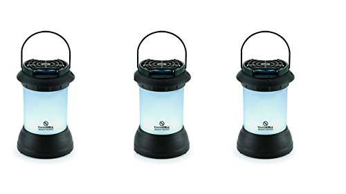 Thermacell Patio Shield Bristol Mosquito Repeller Lantern Decorative Bronze Set of 3 by Thermacell