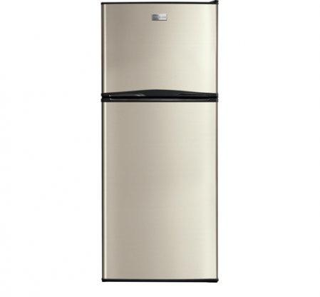 Frigidaire FFTR1222QM 24' Counter Depth Top-Freezer Refrigerator, Silver Mist