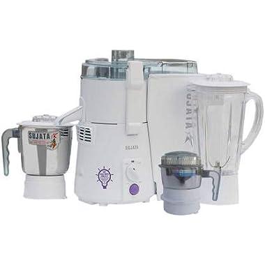 Sujata Mixer Grinder, 900W (White) 8