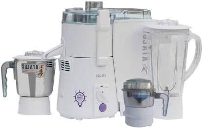 Sujata Mixer Grinder, 900W (White) 3