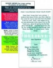 - Swanson Christian Supply Pocket Card Plan Of Salvation