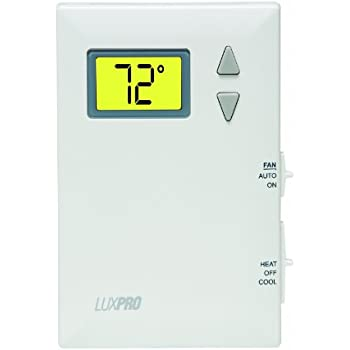 LuxPRO PSD011B Pro-Spec Battery Powered Digital Thermostat