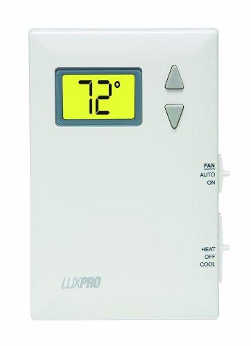Thermostat Battery - LuxPRO PSD011B Pro-Spec Battery Powered Digital Thermostat