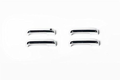 Keyhole Putco Chrome Door Handles - Putco 401062 Door Handle Cover