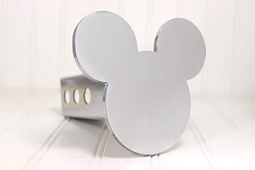 Custom Hitch Covers 12763-Chrome Mickey Mouse Ears Hitch Cover, 2
