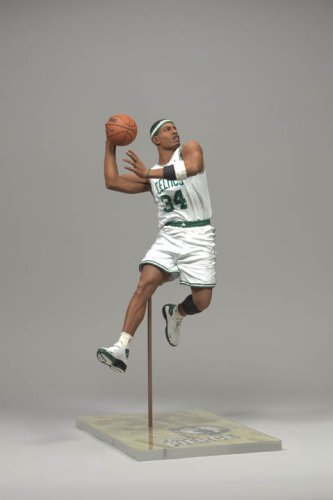 Paul Pierce Boston Celtics White Jersey McFarlane NBA Series 13 Action Figure