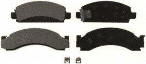 Bendix MKD149 OE Formula Semi-Metallic Brake Pad Set -
