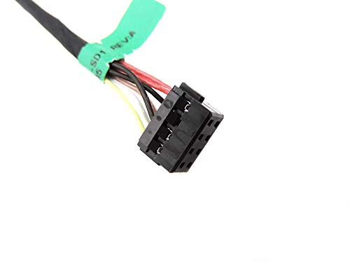 New DC Power Jack Port In Cable Harness for HP Touchsmart 15-d083nr 15-d087ca