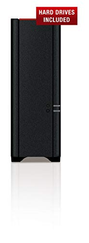 BUFFALO LS210D0201-EU 2TB 1 x 2TB LinkStation 210 1 Bay NAS