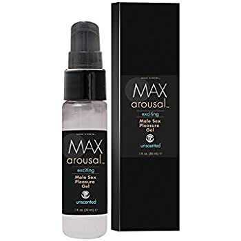 Classic Erotica Max Arousal Exciting Male Sex Pleasure Gel, 1 Fluid Ounce