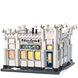 Department 56 Snow Village White Castle Hamburger Restaurant Miniature Lit Building