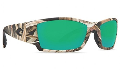 Costa Del Mar CB65OGMGLP Corbina Sunglasses, Mossy Oak Shadow Grass Blades Camo, Green Mirror 580G - Costa Del Corbina Mar 580g