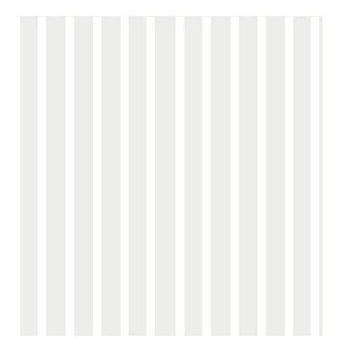 Ideal Home Range 20 Count Boston International 3-Ply Paper Cocktail Napkins, White Stripes Again