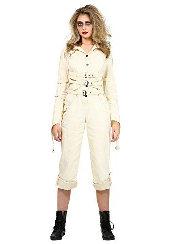 Mental Asylum Halloween Costumes (Plus Size Women's Insane Asylum Costume 2X)