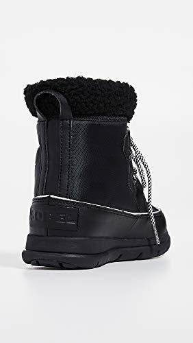 Sne Havsalt 010 Sorel Opdagelsesrejsende Karneval Sorte sort Kvinder Støvler Til qwZSFv1