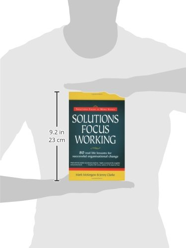 Solutions Focus Working (Solutions Focus at Work)