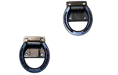 Equiracks Cross Ties For The Barn Horseshoe 48 Pair Steel Gray CT02 by Equi-Racks