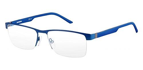 Carrera 8817 Eyeglass Frames CA8817-0PNG-5617 - Matte Blue Frame Lens Diameter 56mm Distance