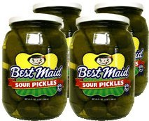 Best Maid Sour Pickles 32 oz (Best Made Sour Pickles)
