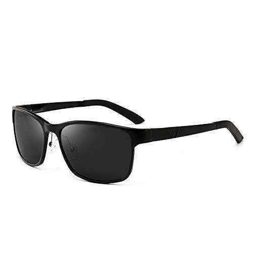 Mjia Gafas Gafas sunglasses D nbsp;cuadradas Hombre de Aluminio A nbsp;polarizadas Que conducen Las Deportivas magnesio Gafas Sol rrS6dxw5