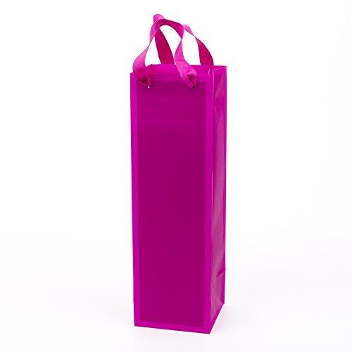 Hallmark Valentine's Day Bottle Gift Bag (Hot Pink)