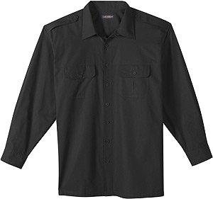 Long-Sleeve Pilot Big & Tall Sport Shirt