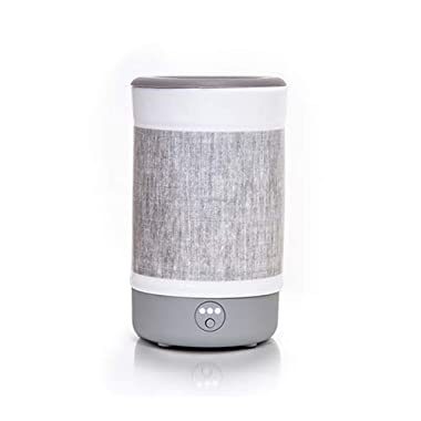 Happy Wax Signature Wax Melt Warmer 2.0 for Scented Wax Melts, Cubes, Tarts – Electric Wax Melter with Automatic Timer, Patent Pending Silicone Top (Gray Linen, Signature Warmer)