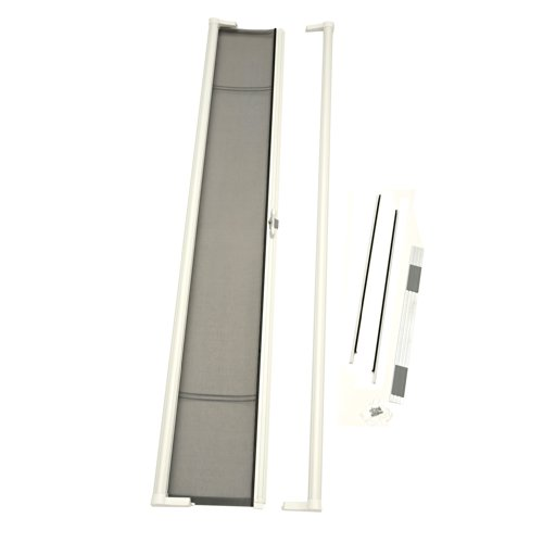 ODL Brisa Premium Retractable Screen for 96 in. Inswing/Outswing Hinged Doors - White
