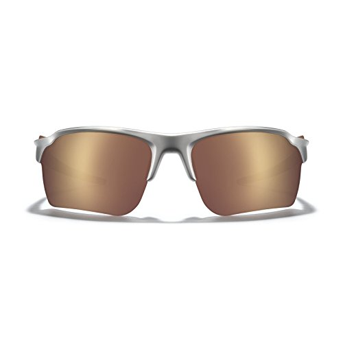 ROKA TL-1 APEX Advanced Sports Performance Racing Ultra Light Weight Sunglasses For Men and Women - Matte Silver Frame - HC Octane Mirror - Roka Sunglasses