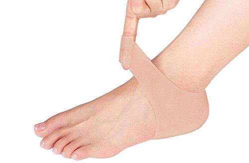 1Paar Silikon Gel Sleeve Schutz trockene Hartschale rissige Haut für Fußpflege Schmerzlinderung Protektoren (Haut)